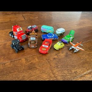 Disney Pixar CARS diecast figures